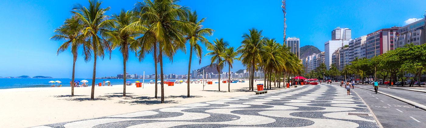 Brazylia - Liczba hoteli Copacabana