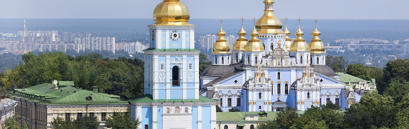 Ukraina - Liczba hoteli Kijów