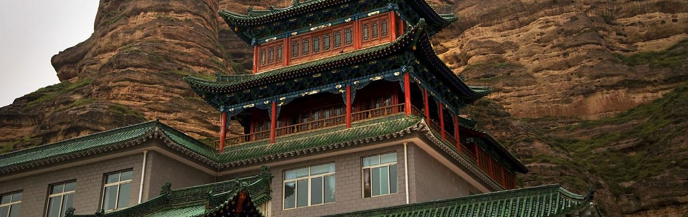 Chiny - Liczba hoteli Lanzhou