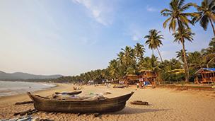 Indie - Liczba hoteli Goa