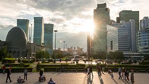 Kazakstan - Hotell Astana