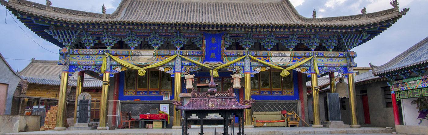 Chiny - Liczba hoteli Xining