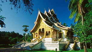Laos - Hotell Louang Prabang