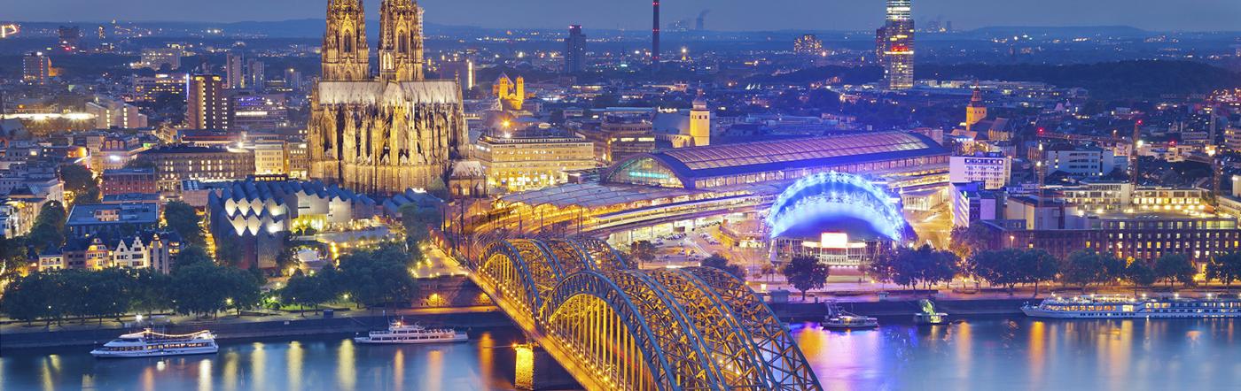 Niemcy - Liczba hoteli Kolonia