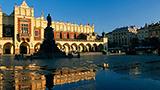 Polska - Liczba hoteli Kraków