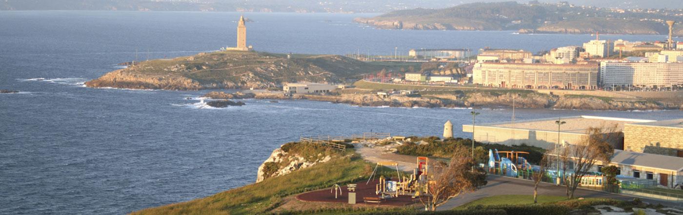 Spanje - Hotels A Coruña