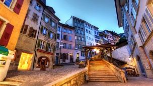 Szwajcaria - Liczba hoteli Lozanna