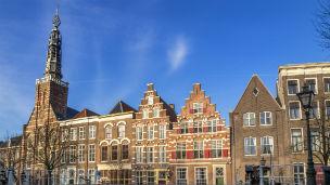 Holandia - Liczba hoteli Leiden