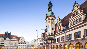 Niemcy - Liczba hoteli Lipsk