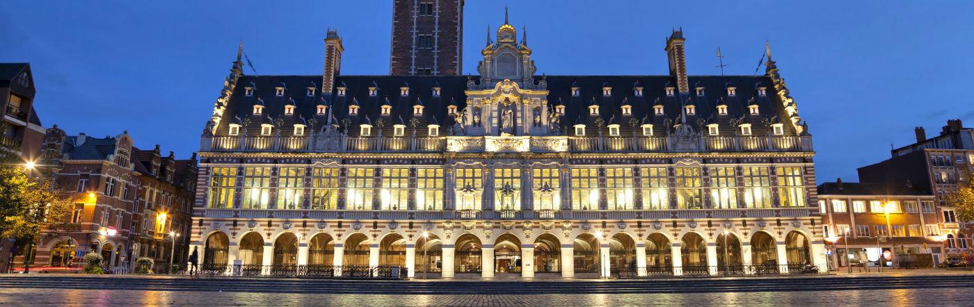 เบลเยียม - โรงแรม ลูเวน