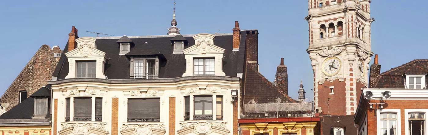 Frankrike - Hotell Lille
