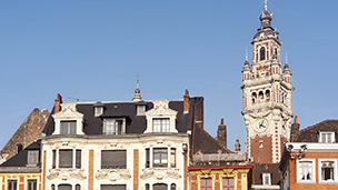 Francja - Liczba hoteli Lille