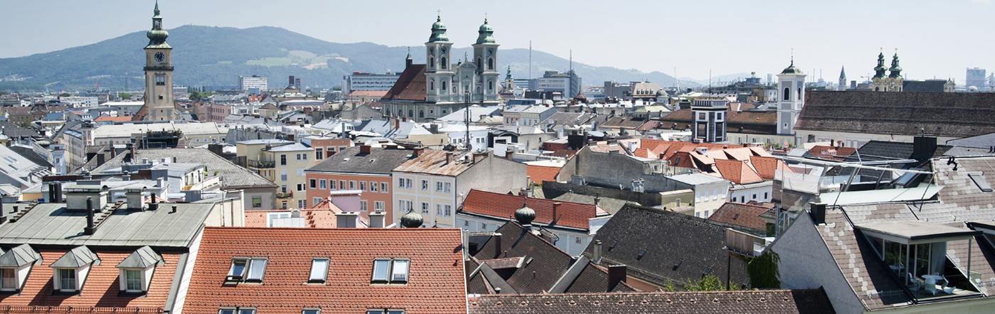 Austria - Liczba hoteli Linz