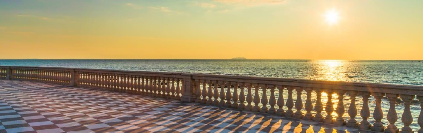 Włochy - Liczba hoteli Livorno