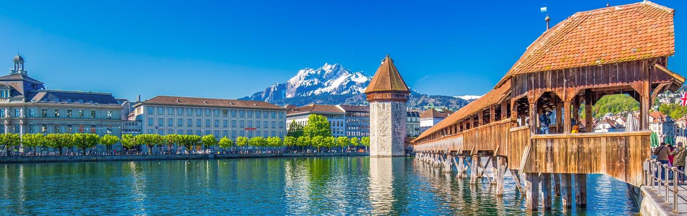 Szwajcaria - Liczba hoteli Lucerna