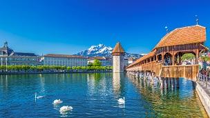 스위스 - 호텔 루체른