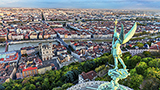 Francja - Liczba hoteli Ljon