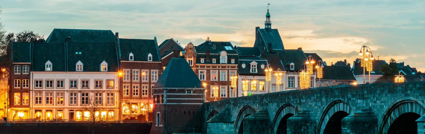 Holandia - Liczba hoteli Maastricht
