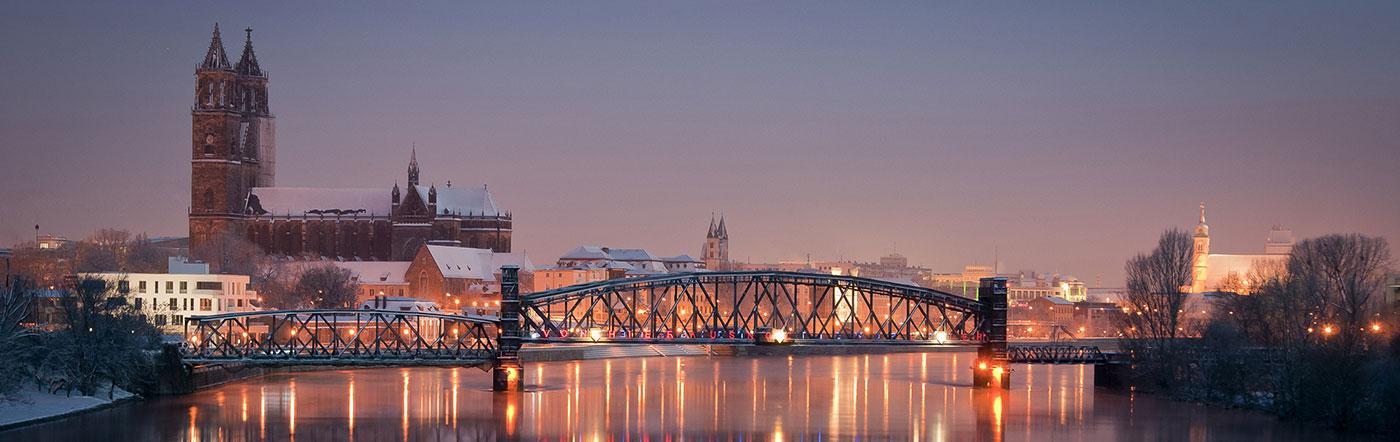 Tyskland - Hotell Magdeburg
