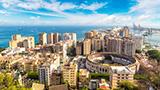 Hiszpania - Liczba hoteli Malaga