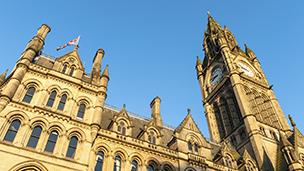 WielkaBrytania - Liczba hoteli Manchester