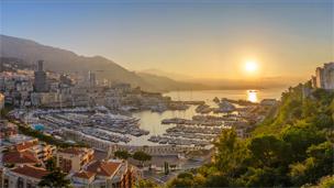 Монако - отелей Монте-Карло