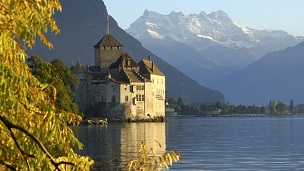 Швейцария - отелей Монтре
