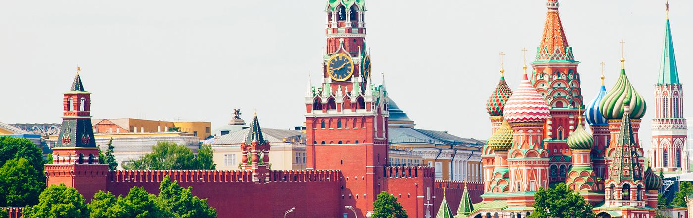 Rússia - Hotéis Moscovo