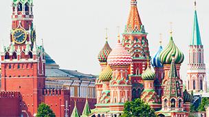 Federacja Rosyjska - Liczba hoteli Moskwa