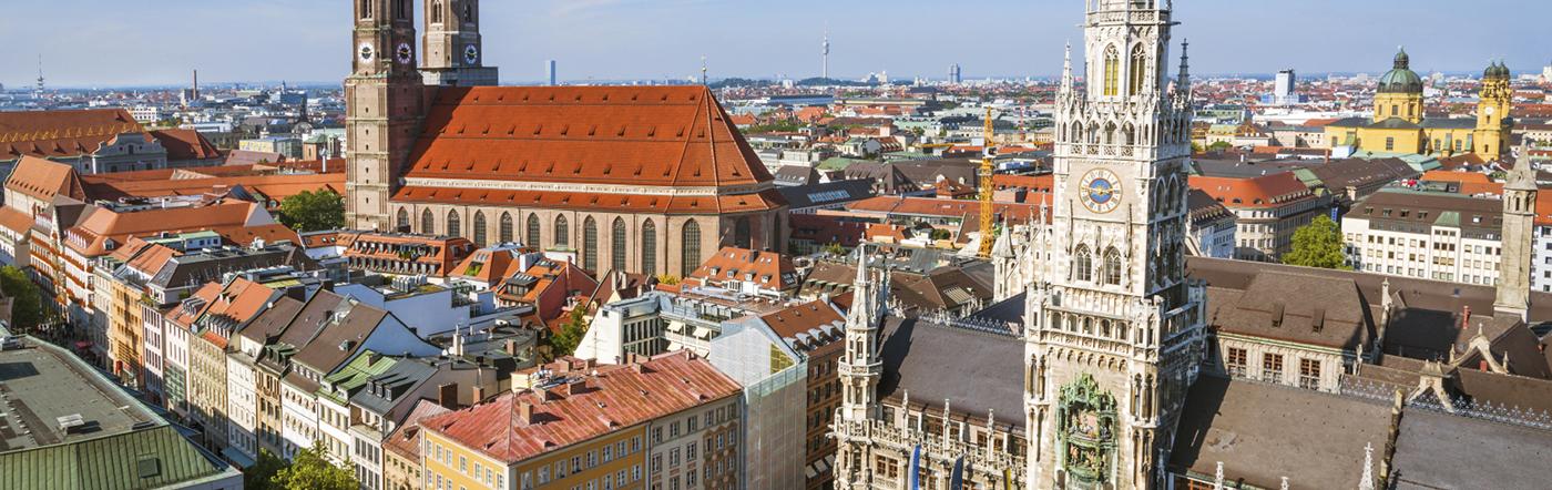Niemcy - Liczba hoteli Monachium