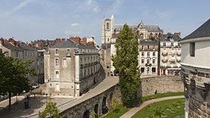 Francja - Liczba hoteli Nantes