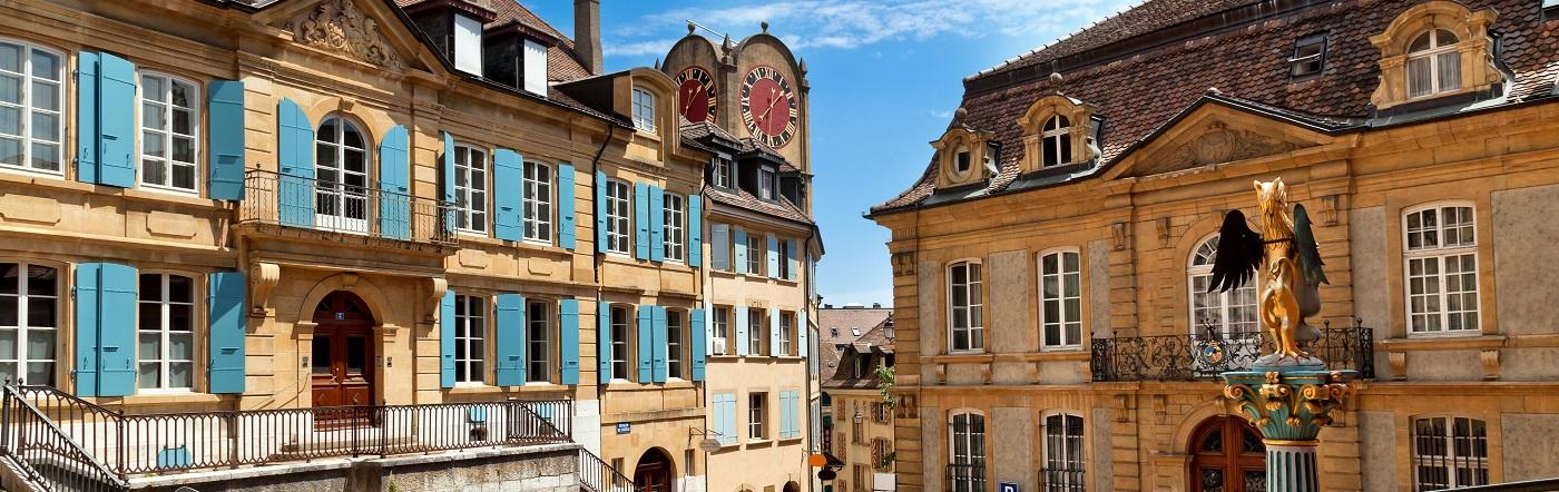 สวิตเซอร์แลนด์ - โรงแรม เนอชาแตล