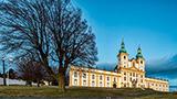 Czechy - Liczba hoteli Ołomuniec