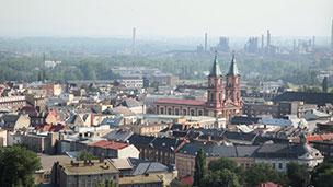 Czechy - Liczba hoteli Ostrawa