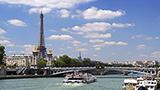 Francja - Liczba hoteli Paryż