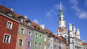 Polska - Liczba hoteli Poznań
