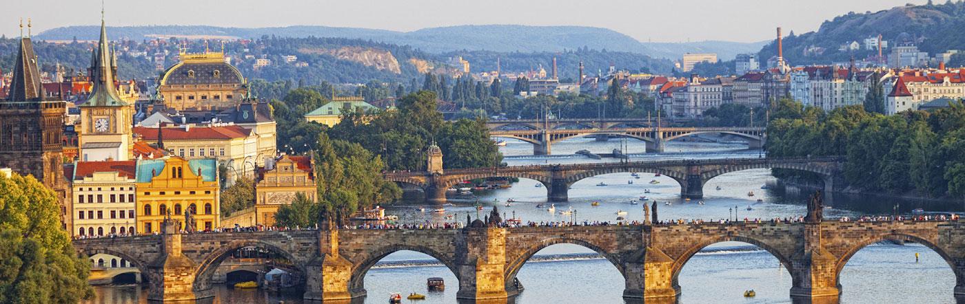 Czechy - Liczba hoteli Praga