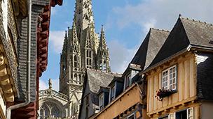 Francja - Liczba hoteli Quimper