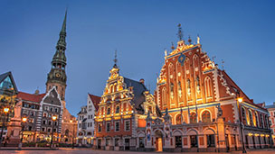 Łotwa - Liczba hoteli Ryga