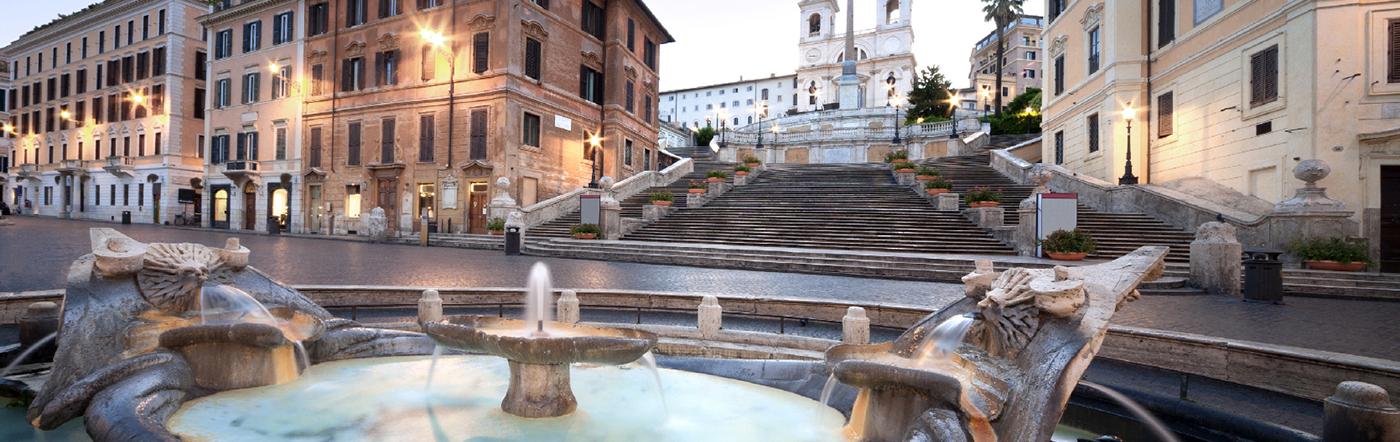 イタリア - ローマ ホテル