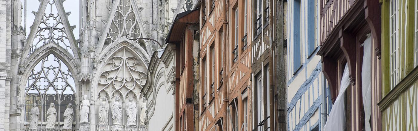 Francja - Liczba hoteli Rouen
