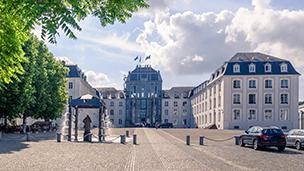 Niemcy - Liczba hoteli Sarrebruck