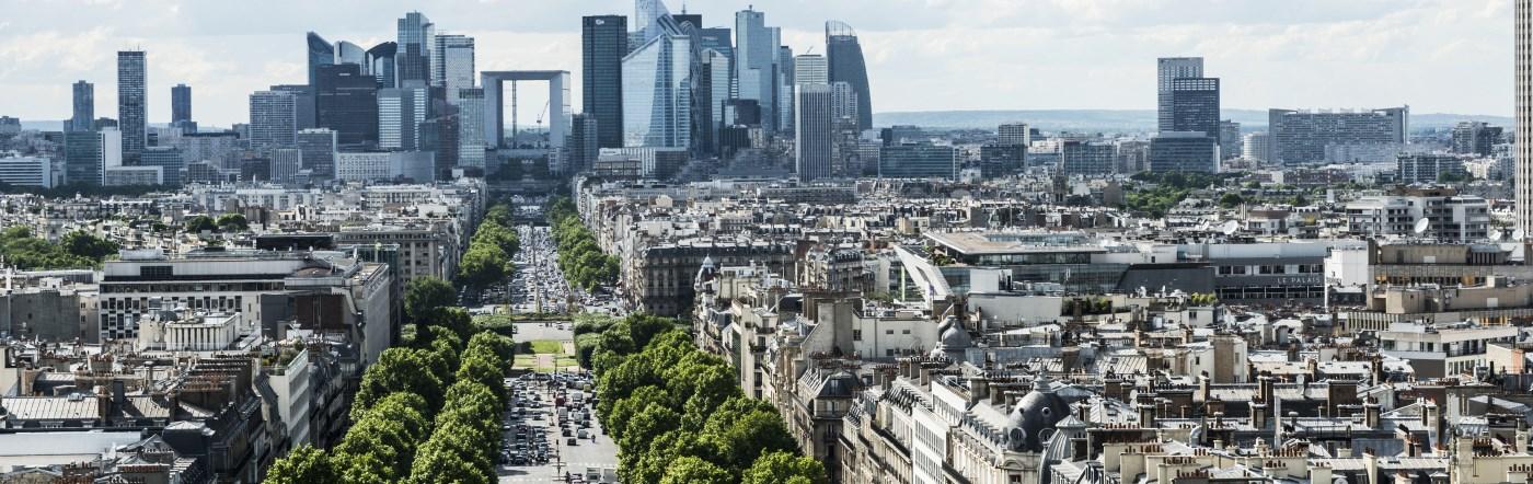 Francja - Liczba hoteli Saint Gratien