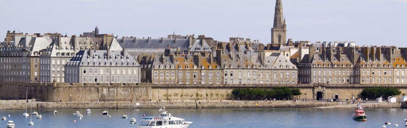 Frankrike - Hotell Saint-Malo