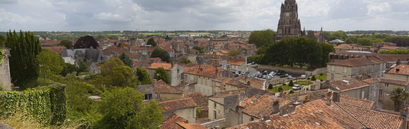 Francja - Liczba hoteli Saintes