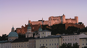 Austria - Liczba hoteli Salzburg