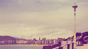 Hiszpania - Liczba hoteli San Sebastian