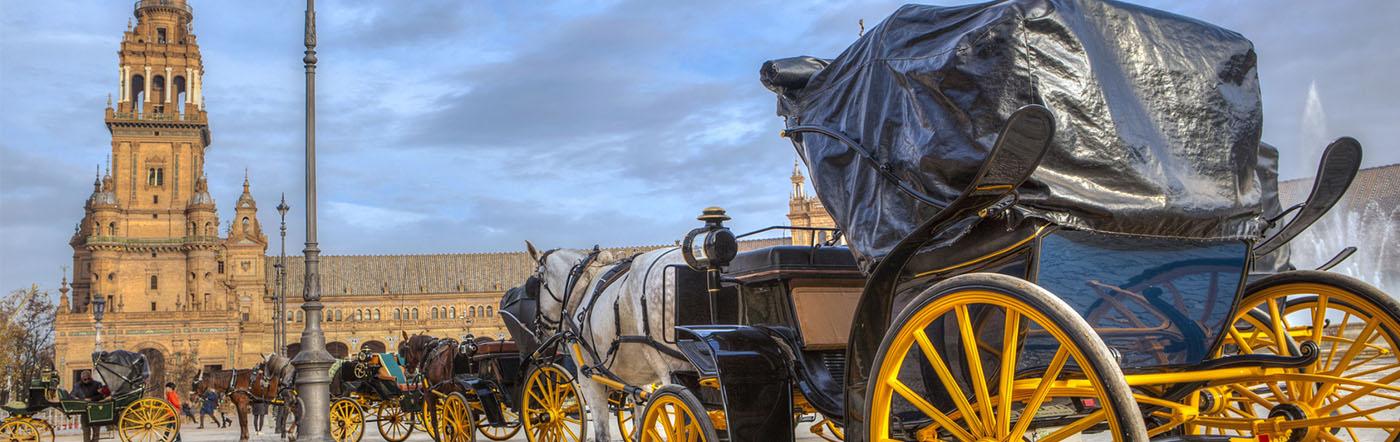 Hiszpania - Liczba hoteli Sevilla