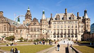 Wielka Brytania - Liczba hoteli Sheffield