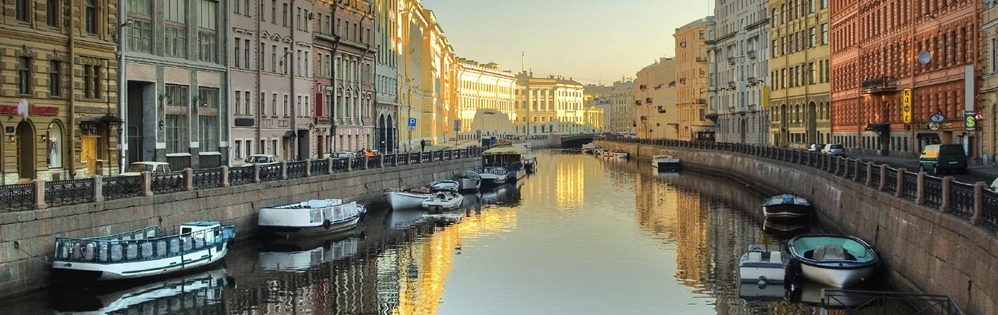 Rusia - Hoteles San Petesburgo